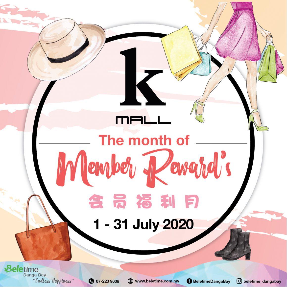 K-Mall • Member Reward's